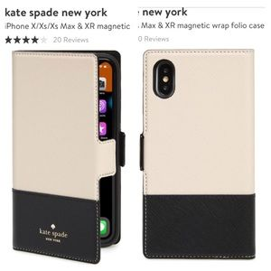 NWT KS Magnetic Wrap Folio Iphone X2 Case